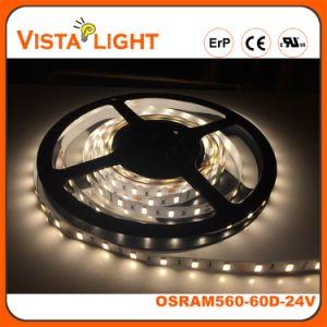 120 indicatore luminoso di striscia flessibile di grado SMD RGB LED