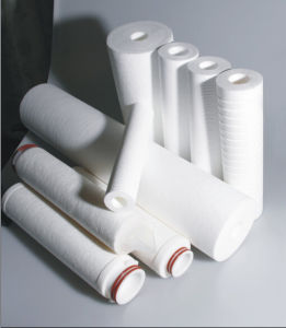 Pp.-Schmelze durchgebrannter Filtereinsatz für Trinkwasser-Behandlung