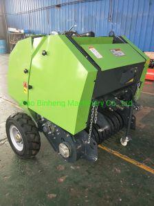 Rosca Postiça China Aprovado pela CE fabricante de máquinas agrícolas montado no trator Feno Barata Enfardadeira de fardos redondos de Palha