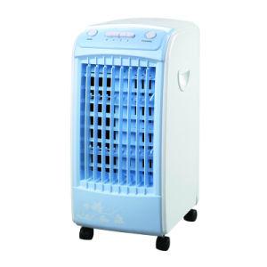 Casa con el enfriador de aire