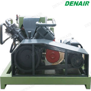 40 Bar silencioso Gdp descargas libres de aceite del compresor de aire de pistón