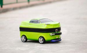 ABS+PC Childrenluggage Maletín Coche de juguete equipaje