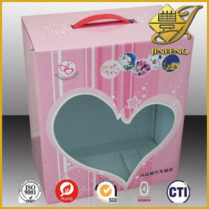 L'emballage personnalisé Sweet Boîte avec plastique PET