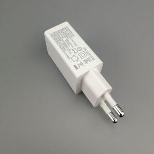 Werksgesundheitswesen-EU/USAstecker-Arbeitsweg-Aufladeeinheit 5V 2.1A USB-Wand-Aufladeeinheit