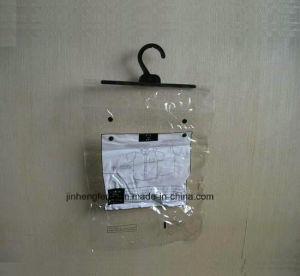 인쇄를 가진 투명한 PVC 훅 부대 중국 공장 (jhf-010)