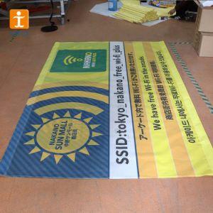 Bandiera promozionale all'ingrosso della maglia di pubblicità esterna del vinile