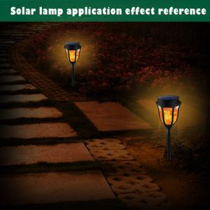 Beleuchtung-pulsierenflamme-Solarstraßenlaternedes Weihnachtsfeiertags-LED