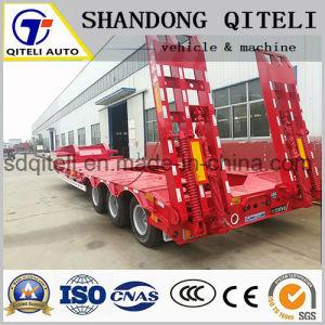 Remorque de camion remorque Faible Faible corps lit semi-remorque pour charger des cargaisons de 100 tonnes