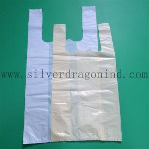 De hoogste Transparante Zak van het Vest Qunlity voor het Winkelen Gebruik