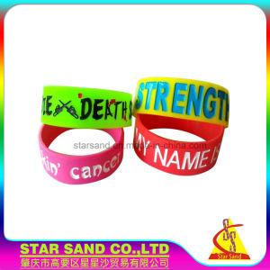 Wristbands del silicone di alta qualità, braccialetto del silicone di fascino