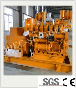 木製の餌によって発射される100kw -500kwの生物量のガス化装置の発電機