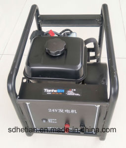 Populaire en Inde 2000W 24V DC Générateur Diesel de départ de rappel