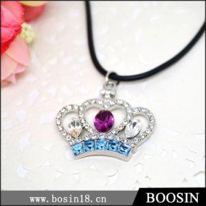 Juwelen van de Halsband van het Kristal van de Kroon van bergkristallen de Met de hand gemaakte voor In het groot #19684