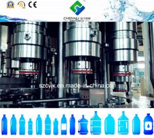 Riempimento di lavaggio bevente automatico pieno dell'acqua pura ricoprendo 3 in 1 macchina