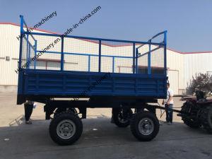 De Aanhangwagen van de Stortplaats van het Landbouwbedrijf van de landbouw voor Tractor Fram