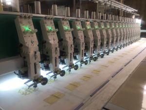 Multi macchinario ad alta velocità automatizzato del ricamo di prezzi bassi per il ricamo piano della maglietta di /Cap/ con il più nuovo sistema di controllo di Dahao