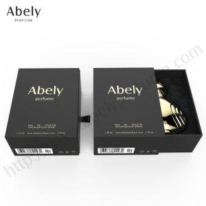 O design do frasco de perfume vidro 100ml com caixa rígida