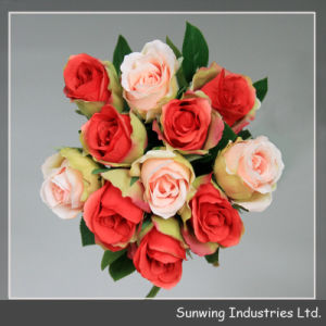 Глубокого розового цвета искусственных цветов Hydrangea