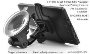 5.0 polegadas carro popular no painel de navegação GPS módulo GPS embutido Tmc Bluetooth AV-in Host USB