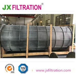 Cunha de tela de arame de aço inoxidável cilindro do filtro