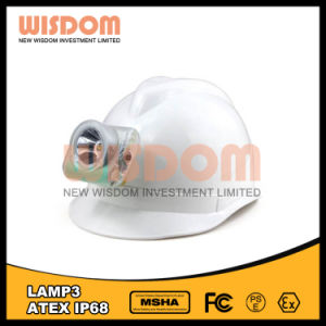 Atexの安全灯、LEDのコードレス帽子ランプ