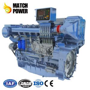 가격 Weichai 최고 550HP 바다 디젤 엔진 405kw