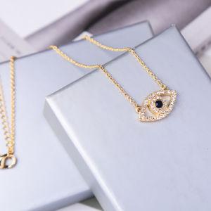 Halsband van het Oog van de Diamant van de Juwelen van de manier de Eenvoudige