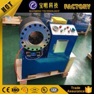 CNCデジタルの制御された圧着工具のゴム製油圧ホースのひだが付く機械