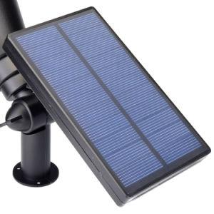 LEDの太陽軽い屋外の太陽エネルギーのスポットライトの庭の芝生ランプの景色の点ライト