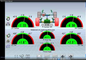 Fostarの単一のコラム3Dのホイール・アラインメント(fsd300A)