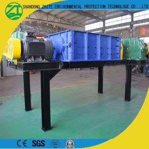 二重シャフトの金属のくずか固形廃棄物または生活のガーベージまたはプラスチックまたは泡またはタイヤのシュレッダー