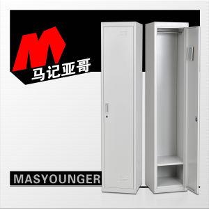 Preiswertes kaltgewalztes StahlCommecial Metallspeicher-Schrank-Garderoben-Eisen-einzelnes Schließfach