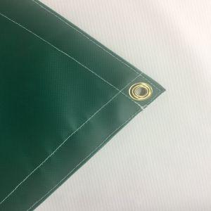 Color el doble de material de toldo para sombra