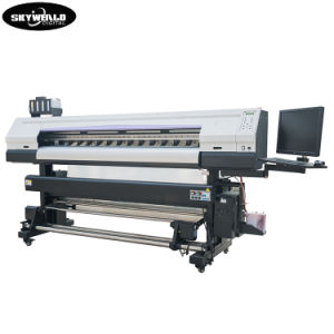 Dx5 tres cabezales de impresión mejor precio de la parte superior de rendimiento directamente de la máquina impresora de Banner