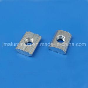 T La fente de 8 mm de la vis en acier de 5 mm H Bloc coulissant Vis et écrou de l'écrou de types de fixations