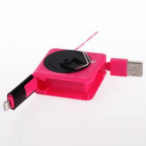 2 ritrattabili in 1 cavo di carico del USB della tagliatella