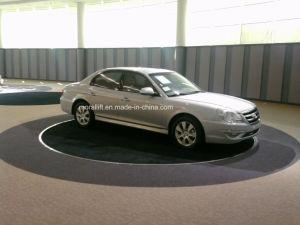 Перегрузка автомобиля дисплей платформа вращение поворотного стола
