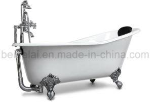 Vasca Da Bagno Piccola In Ghisa : Vasca da bagno indipendente del ghisa del piede antico della