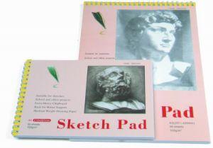 Crayon de papier blanc Sketch Pad Livre de dessin