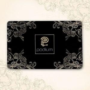 L'impression personnalisée 13.56MHz/125kHz sans contact RFID en plastique PVC ID de carte à puce Carte d'affaires