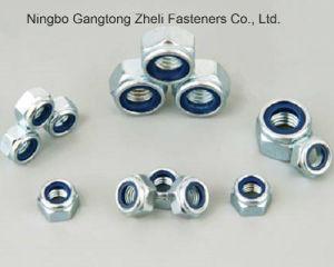 Type de couple de DIN985 Prevaling écrous de blocage en nylon avec galvanisé