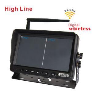 Sistema sin hilos de la cámara de Digitaces para los remolques, los carros y la máquina segadora