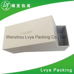 Caja de papel de regalo de cartón Caja de cosméticos de papel