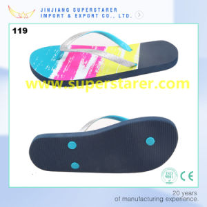 La mode de la Chine PE Femmes tongs chaussures