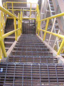 Galvanizado en caliente rallar piso de la plataforma