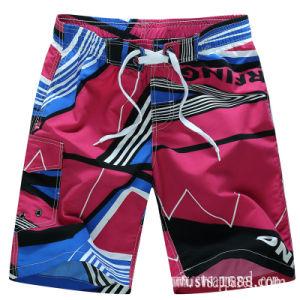 Usura della spiaggia di stampa di Shorts di nuotata di modo degli uomini dell'OEM della fabbrica