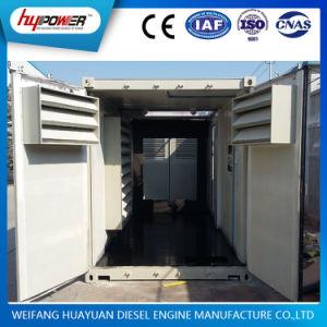 Weichai 500kVA / 400kw grupo electrógeno diesel de bajo ruido