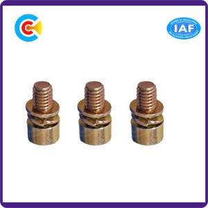 Многоцветных Zinc Carbon Steel/4.8/8.8/10,9 цилиндрический винт с шестигранной головкой с прокладкой/шайбы