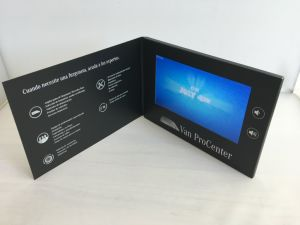 최신 판매 2.4 , 2.8 , 3.5 , 4.3 , 5 , 7 , 10.1  LCD 영상 선수 인사장/영상 브로셔 광고하기