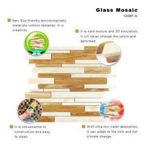 Het hittebestendige Mozaïek van het Gebrandschilderd glas voor Keuken Backsplash